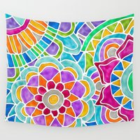 whimsical Wall Tapestries featuring Whimsical by ArtLovePassion