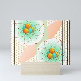 Mid-Century Modern Art Atomic 1.0 Mini Art Print