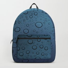 It was Night and the Rain fell Backpack