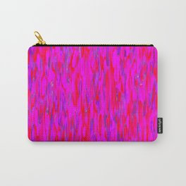 red purple verticals Carry-All Pouch
