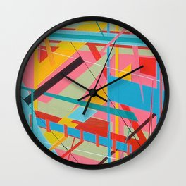 Lonely Among Us Wall Clock