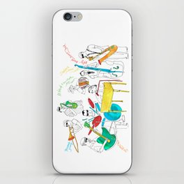NOLA Jazz Fest 2011 iPhone Skin