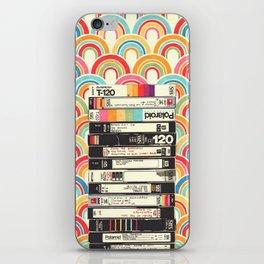 VHS & Rainbows iPhone Skin