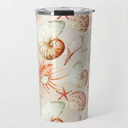 Marine Pattern 06 Travel Mug