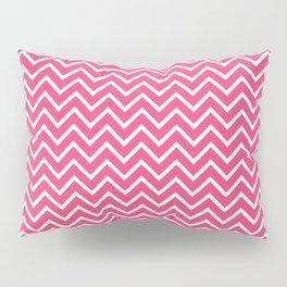 Pink Chevron Pattern Pillow Sham