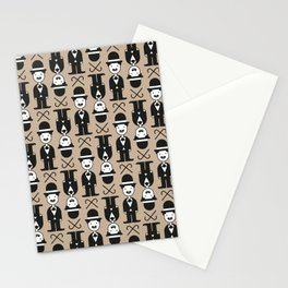 Charlie Chaplin Pattern Stationery Cards
