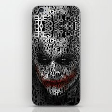 Halloween Psycopath Clown Typograph apple iPhone 4 4s 5 5s 5c, ipod, ipad, pillow case and tshirt iPhone Skin