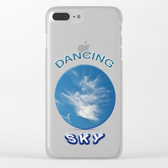 Dancing Sky Clear iPhone Case