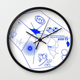 GOD TV Wall Clock