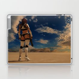 Sexy Storm Trooper - Desert - Sky - Pin up - ZG 3D Laptop & iPad Skin