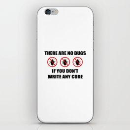 No bugs iPhone Skin