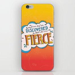 Fierce! iPhone Skin