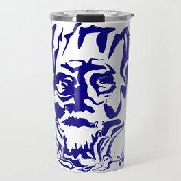 face5 blue Travel Mug