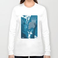 hamlet Long Sleeve T-shirts featuring Hamlet and Yorick by SHOTS