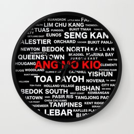 SINGAPORE - ANG MO KIO Wall Clock