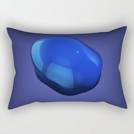 Blobby number 2 Rectangular Pillow