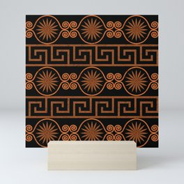 Ornate Greek Bands Mini Art Print