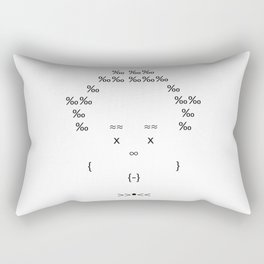 The Only Text Series - Fofo Rectangular Pillow