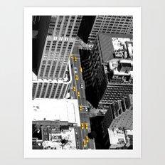 Taxi ! Art Print