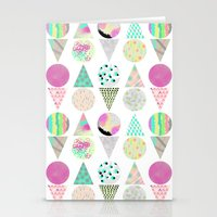 psychedelic Stationery Cards featuring Psychedelic by Catalina Montaña