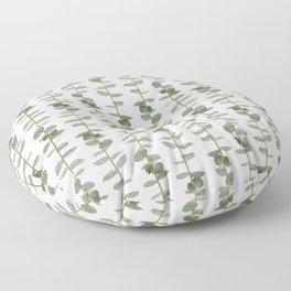Eucalptus Branches - Naural Botanic Patterns Floor Pillow