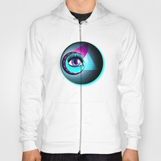 Halftone Eyeball Hoody