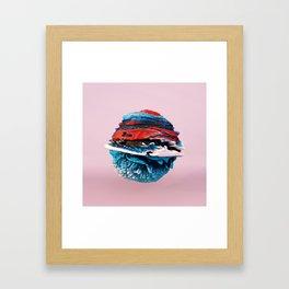 ACRYLIC BALL ABSTRACT // 3D ABSTRACT Framed Art Print