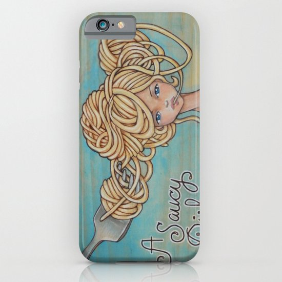 A Saucy Dish iPhone & iPod Case