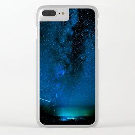 Arizona Summer Nights Clear iPhone Case