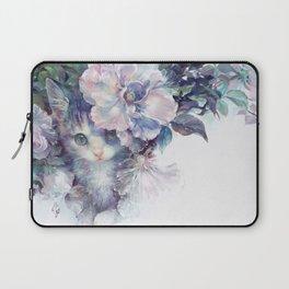 secret behind flowers Laptop Sleeve