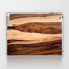 Sheesham Wood Grain Texture, Close Up Laptop & iPad Skin