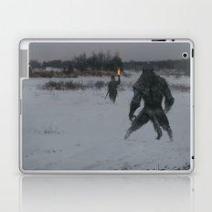 hunting at night Laptop & iPad Skin