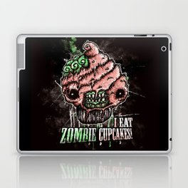 I Eat Zombie Cupcakes! Laptop & iPad Skin