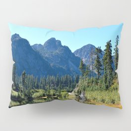 Mount Herman with Highwood Lake Pillow Sham