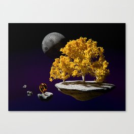 Horn of the Yellow Grove Canvas Print