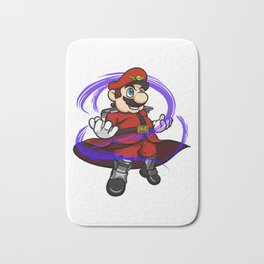 Mario Bison - M Bros Bath Mat