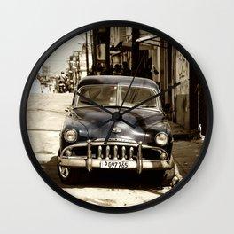 De Soto Blues  Wall Clock