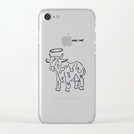 holy cow! Clear iPhone Case