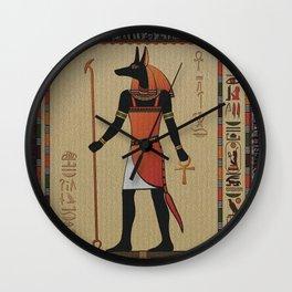 ANUBIS Wall Clock