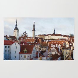 Historic Tallinn, Estonia Rug