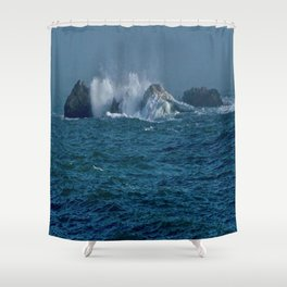 Land and Seascapes Shower Curtain