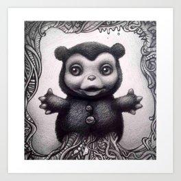 1E: The Beast in Me 1.0. 2014 Art Print