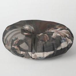 Thomas Eakins - Portrait of Dr Samuel D Gross (The Gross Clinic) Floor Pillow
