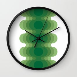 Mas Echoes Wall Clock