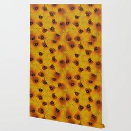 Bee flower Wallpaper