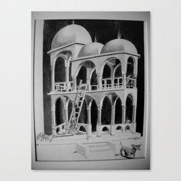 Escher Weenies Canvas Print