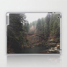 Bridge at Moulton Falls, WA Laptop & iPad Skin