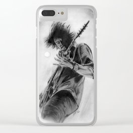 Dave Grohl Clear iPhone Case