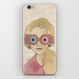 Luna Lovegood iPhone Skin