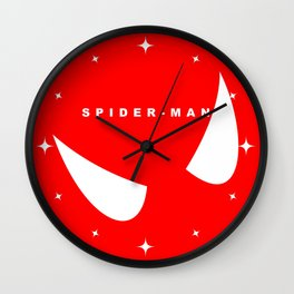 Spider Man (Minimalist Art) Wall Clock